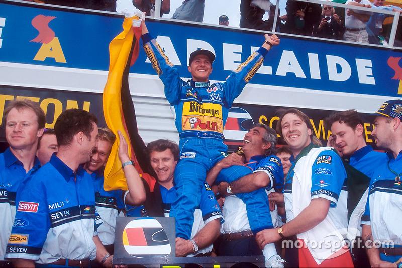 Campeonatos de F1: 7