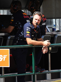 Christian Horner, Team Principal Red Bull Racing RB13