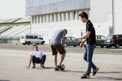 Nirei Fukuzumi, ART Grand Prix; Jack Aitken, ART Grand Prix