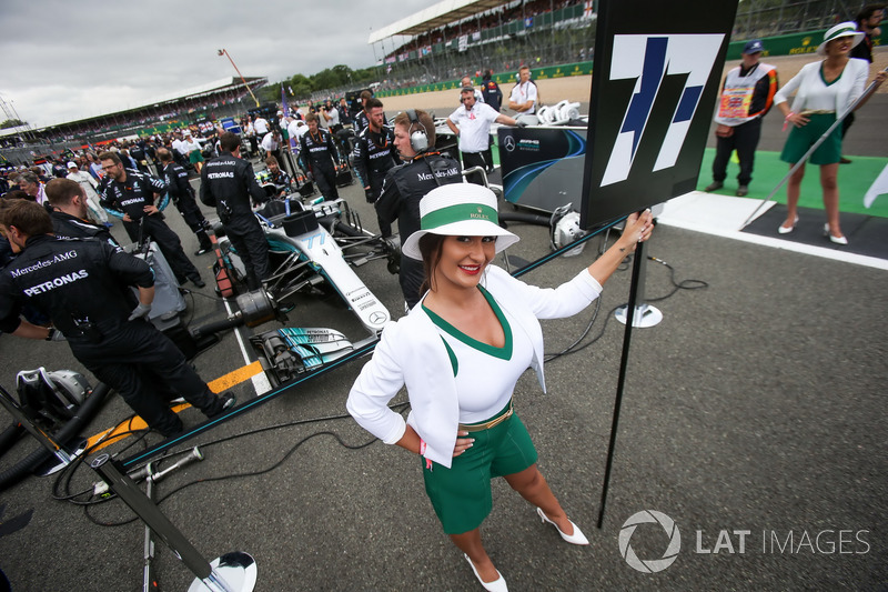 Formula 1 Fotogallery: ecco le grid girl del GP di Gran Bretagna di F.1