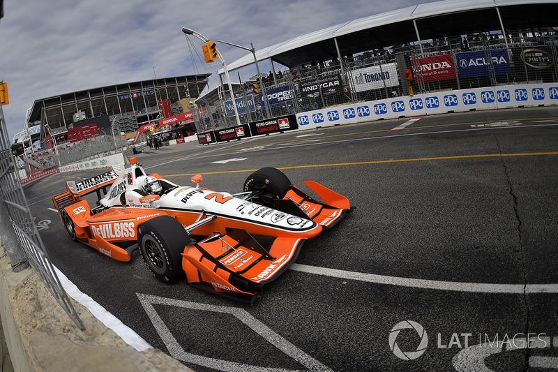 Торонто: Джозеф Ньюгарден, Team Penske Chevrolet