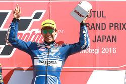 Podium: race winner Enea Bastianini, Gresini Racing Team Moto3