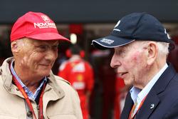 Niki Lauda, Presidente No Ejecutivo de Mercedes con John Surtees