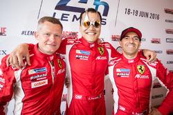 #83 AF CorseFerrari 458 Italia: Emmanuel Collard, François Perrodo, Rui Aguas