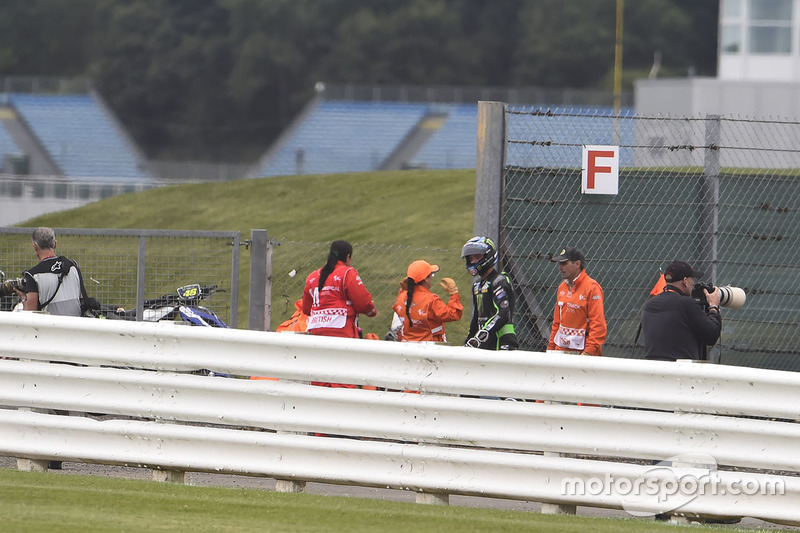 Alex Lowes, Tech 3 Yamaha kaza sonrası