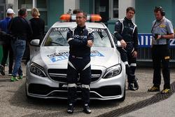Dr Ian Roberts, FIA Medical Car Driver