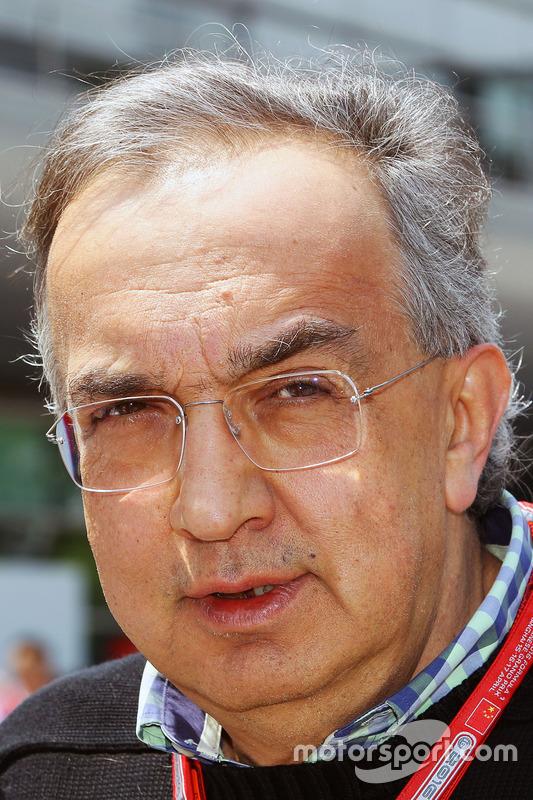 Sergio Marchionne, Ferrari President en CEO Fiat Chrysler Automobiles