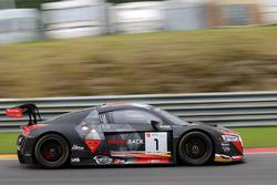 #1 Belgian Audi Club Team WRT, Audi R8 LMS: Frederic Vervisch, Will Stevens, Dries Vanthoor