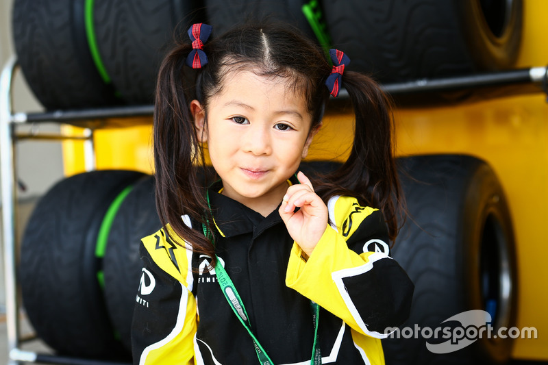Un fan de Renault Sport F1 Team