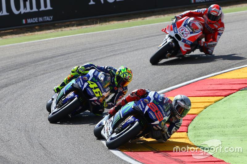 Lorenzo prend sa revanche sur Rossi