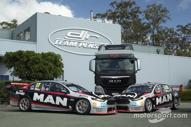 Scott Pye, DJR Team Penske, Fabian Coulthard, DJR Team Penske