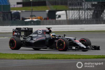 Test in Silverstone, Juli