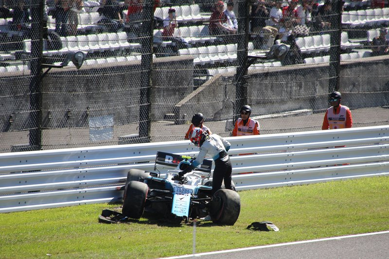 Accident de Robert Kubica, Williams
