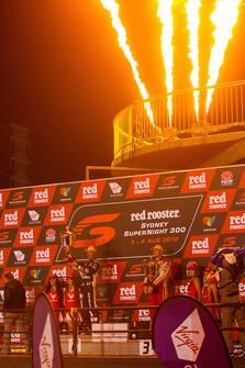 2. Jamie Whincup, Triple Eight Race Engineering Holden, 3. Scott McLaughlin, DJR Team Penske Ford