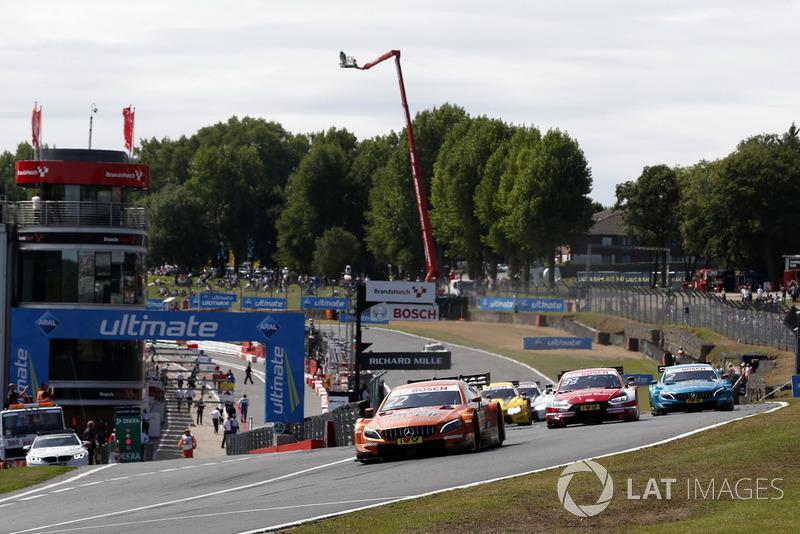 Start: Lucas Auer, Mercedes-AMG Team HWA, Mercedes-AMG C63 DTM