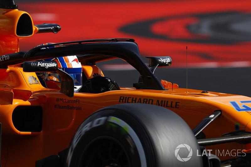 21 місце — Ландо Норріс, McLaren. Умовний бал — 0,46