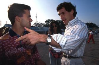 Pedro LamyTeam Lotus ve Ayrton Senna, McLaren
