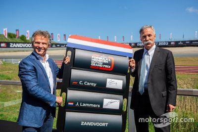Officialisation du GP des Pays-Bas