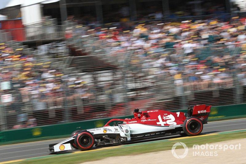 8. Kimi Räikkönen, Alfa Romeo Racing C38