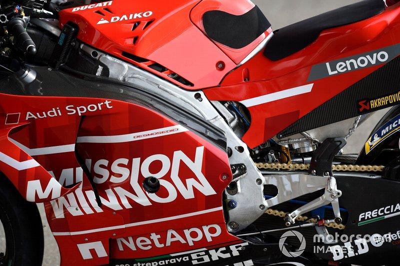 Мотоцикл Ducati Team