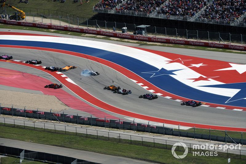 Estados Unidos - Fernando Alonso/Lance Stroll (carrera)