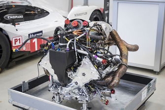 Motor del Porsche 919 Hybrid Evo