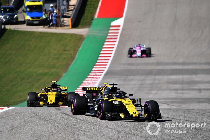 18. Gran Premio de Estados Unidos: victoria de Hulkenberg y nuevo escándalo