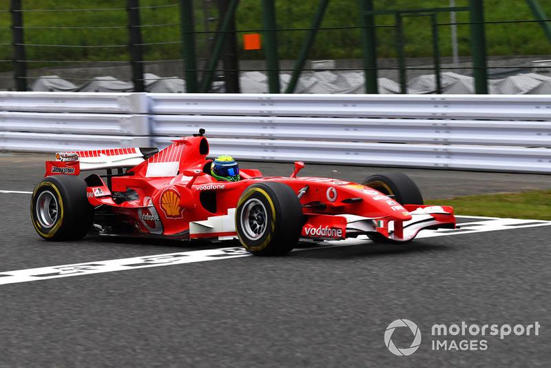 """Феліпе Масса, Ferrari, демонстраційний заїзд """"30 років легенді Ф1"""""""