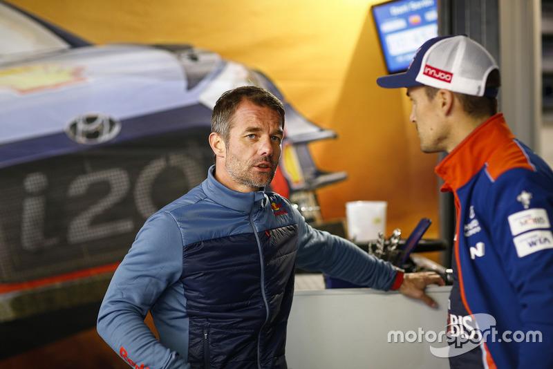 Sebastien Loeb y Dani Sordo, Hyundai Motorsport
