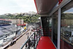 El pit lane