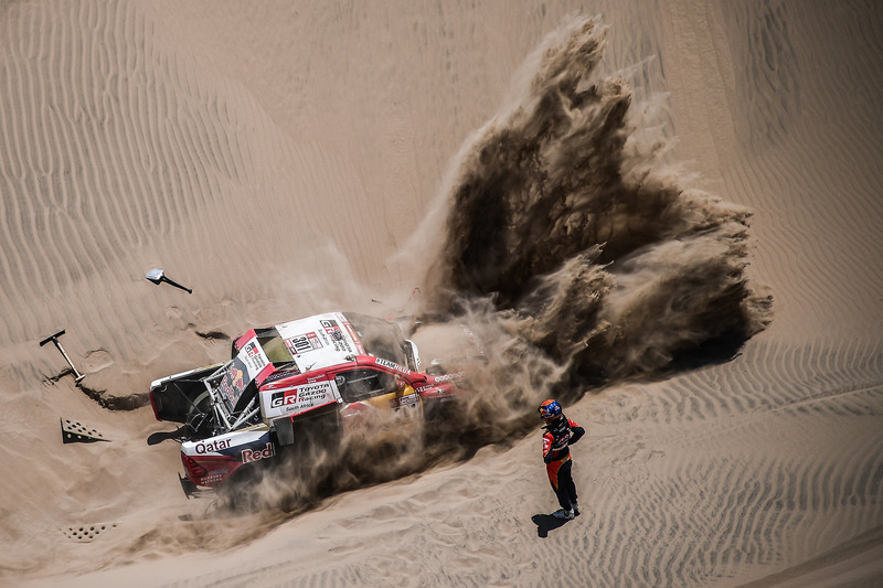 #301 Toyota Gazoo Racing Toyota: Нассер Аль-Аттія, Маттьйо Бомель