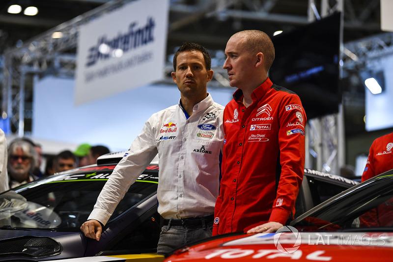 Sébastien Ogier and Craig Breen
