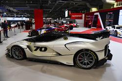 Ferrari cars on display