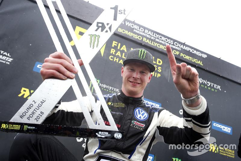Race winner Johan Kristoffersson, PSRX Volkswagen Sweden
