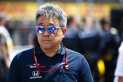 Masashi Yamamoto, manager general de Honda Motorsport