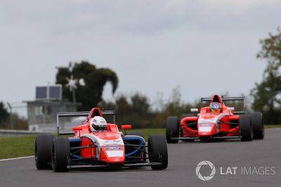 British F4: Snetterton October testing