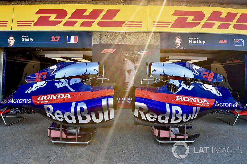 Scuderia Toro Rosso STR13 bodywork