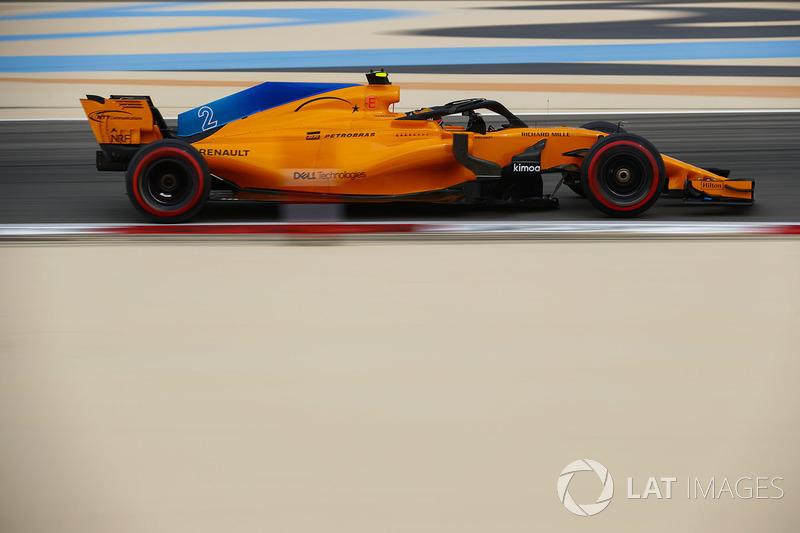10. Stoffel Vandoorne, McLaren MCL33