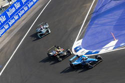Sébastien Buemi, Renault e.Dams, Jean-Eric Vergne, Techeetah, Mitch Evans, Jaguar Racing