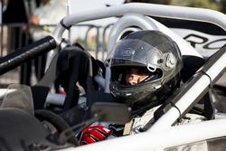 Abdullah Aldosari prepares to drive in ROC Factor Saudi Arabia at ROC Factor Middle East