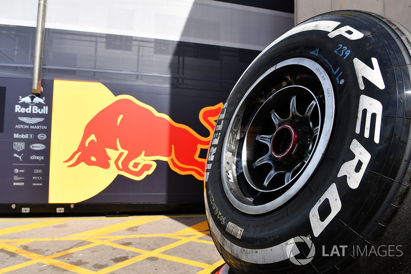 Red Bull Racing Pirelli tyre