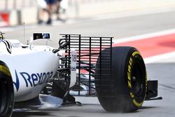 Lance Stroll, Williams FW40 with aero sensor