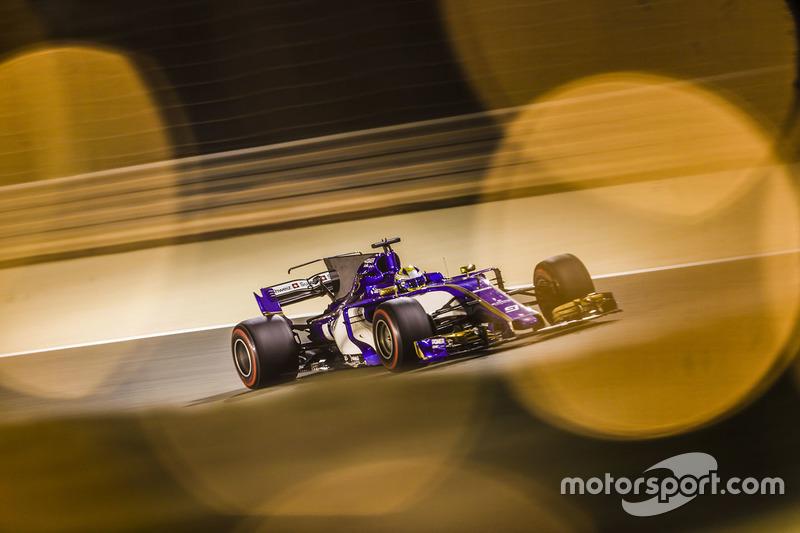 20 місце — Маркус Ерікссон, Sauber. Умовний бал — 2,735