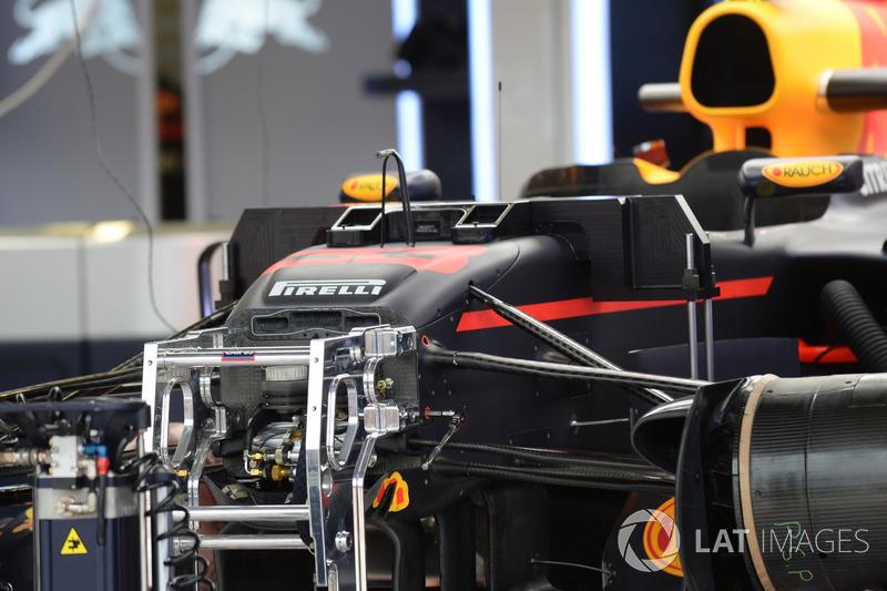 Передня підвіска і шасі Red Bull Racing RB13