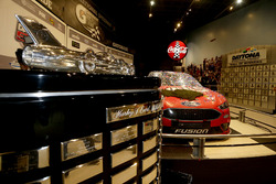 The car of Kurt Busch, Stewart-Haas Racing Ford