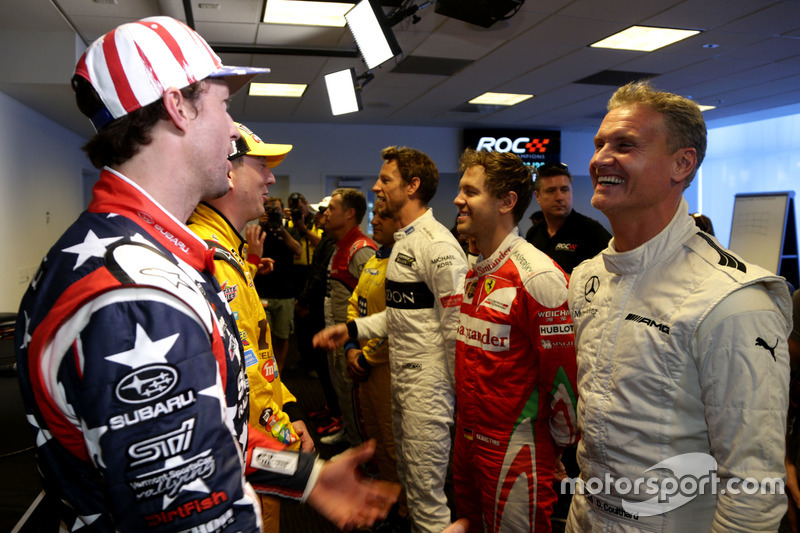 Travis Pastrana y David Coulthard