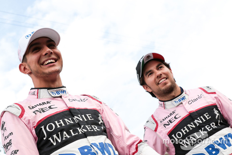 Серхіо Перес і Естебан Окон, Force India