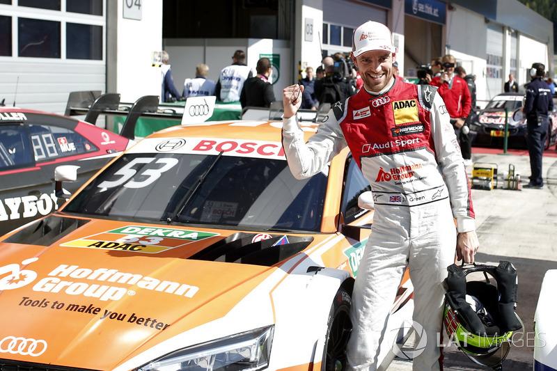 Володар поулу Джеймі Грін, Audi Sport Team Rosberg, Audi RS 5 DTM