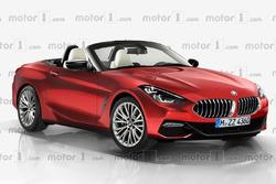 Render del BMW Z4