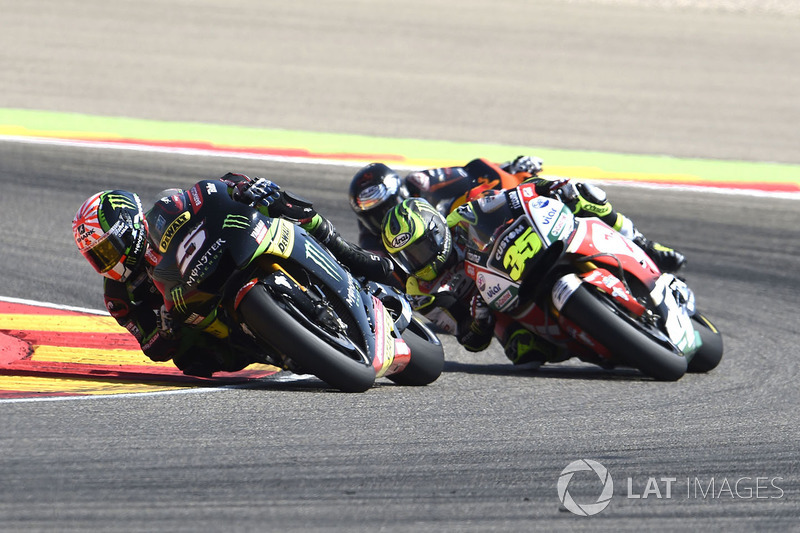 Johann Zarco, Monster Yamaha Tech 3 bei Aragon - MotoGP Fotos